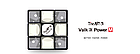 Кубик Рубика The Valk 3 Power M black | Валк 3 магнитный - Кубик Рубика 3х3 №1, фото 4