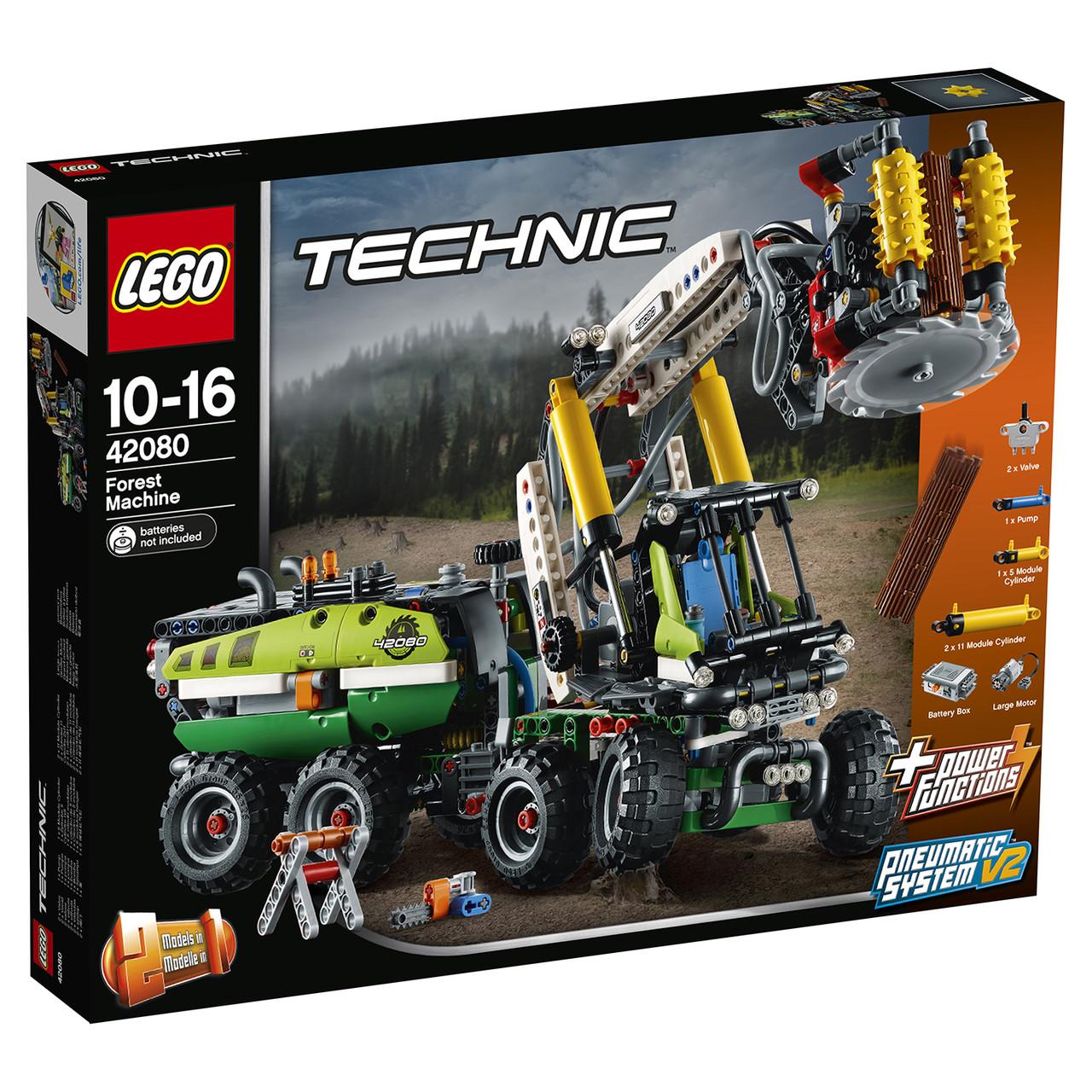 Классический конструктор LEGO Technic Лесозаготовительная машина (42080)