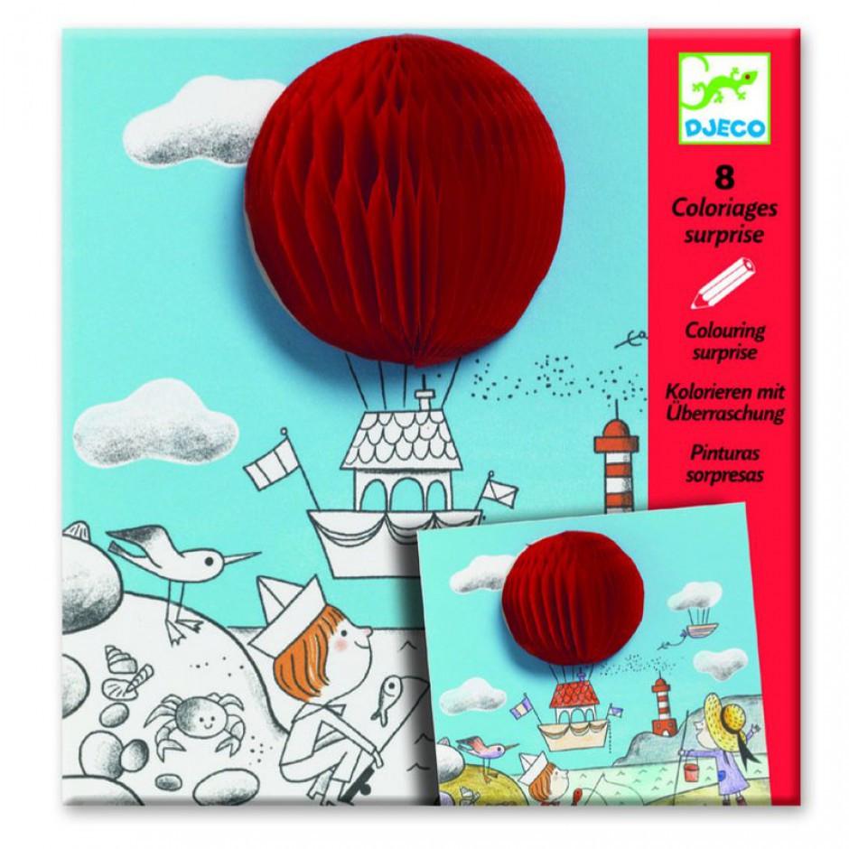 DJECO Художній комплект для малювання Веселий куля