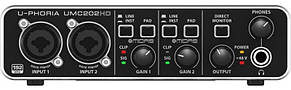 Аудіоінтерфейс Behringer UMC202HD, фото 2