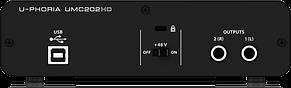 Аудіоінтерфейс Behringer UMC202HD, фото 3