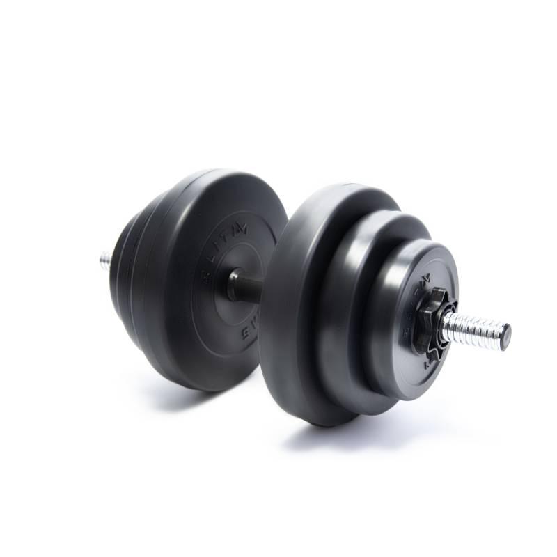 Гантеля композитная Elitum 18 кг