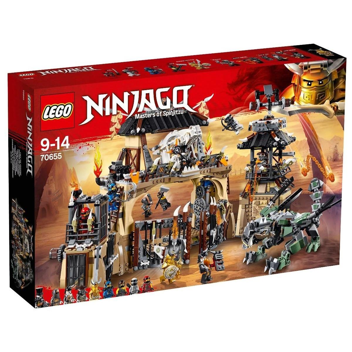 Классический конструктор LEGO NINJAGO Пещера драконов (70655)