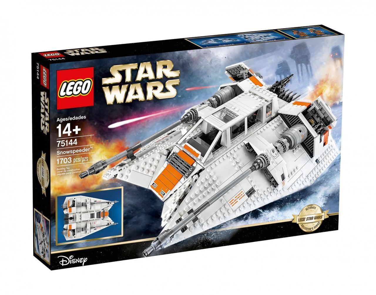 Класический конструктор LEGO Снежный спидер (75144)