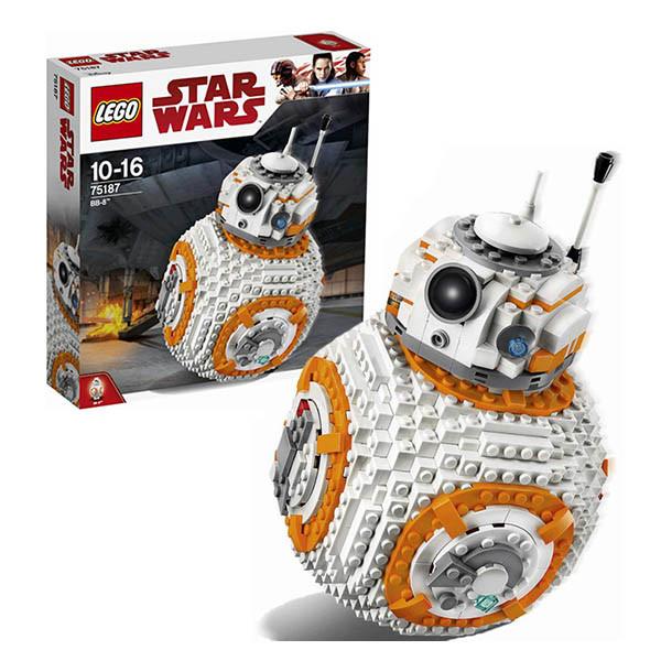 Классический конструктор LEGO Star Wars БиБи - 8 (75187)