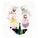 DJECO Художественный комплект рисование цветной фольгой Очарование, фото 3