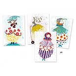 DJECO Художественный комплект рисование цветной фольгой Очарование, фото 6