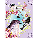 """DJECO Художній комплект малювання блискітками """"Птахи з блискітками"""", фото 2"""