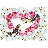 """DJECO Художній комплект малювання блискітками """"Птахи з блискітками"""", фото 3"""