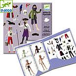 DJECO Художественный комплект с наклейками Пираты, фото 3