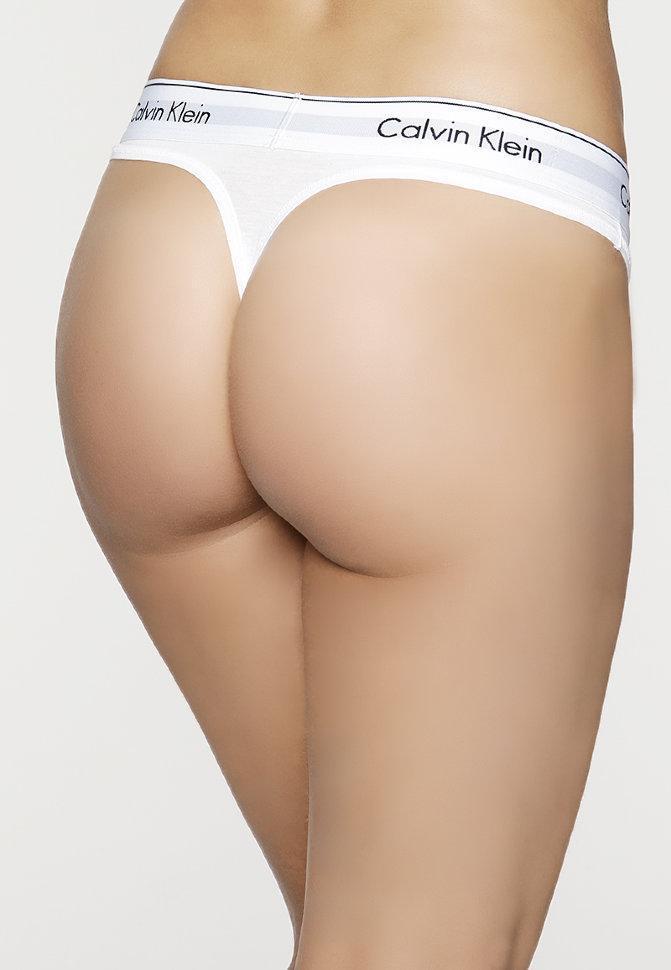 Женское нижнее белье Calvin Klein 365  стринги реплика - 4 цвета