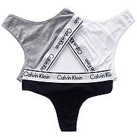 Женское нижнее белье Calvin Klein 365  стринги реплика - 4 цвета , фото 9