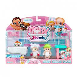 Baby Secrets Игровой набор со стульчиком для кормления