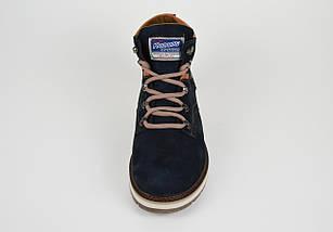 Синие зимние ботинки Konors 7067, фото 3
