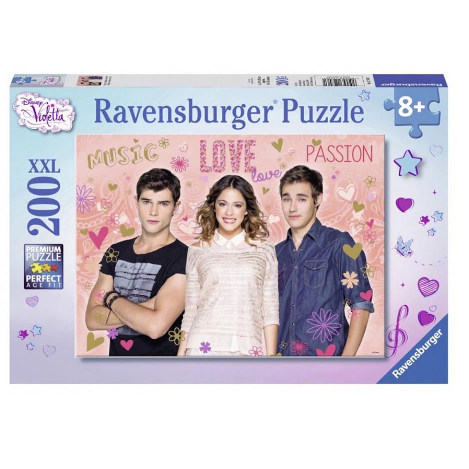 """Ravensburger Пазл-XXL """"Віолетта, Дієго і Леон"""" 200 елементів"""