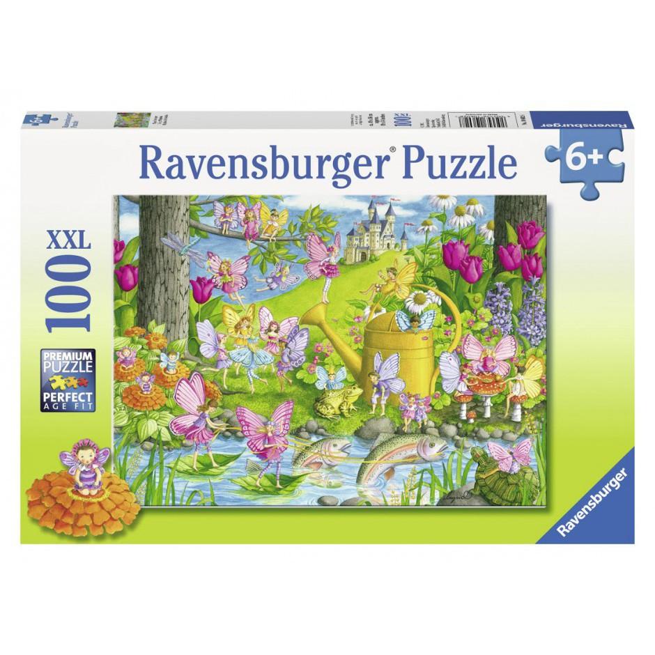 """Ravensburger Пазл-XXL """"Чарівний сад"""" 100 елементів"""