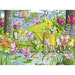 """Ravensburger Пазл-XXL """"Чарівний сад"""" 100 елементів, фото 2"""