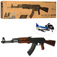 Іграшковий автомат Калашникова АК-47 на акумуляторі XM-239, стріляє чергою, на пульках, дитяче зброю, фото 1