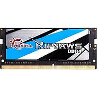 Память G.Skill 8 GB SO-DIMM DDR4 3000 MHz Ripjaws (F4-3000C16S-8GRS)
