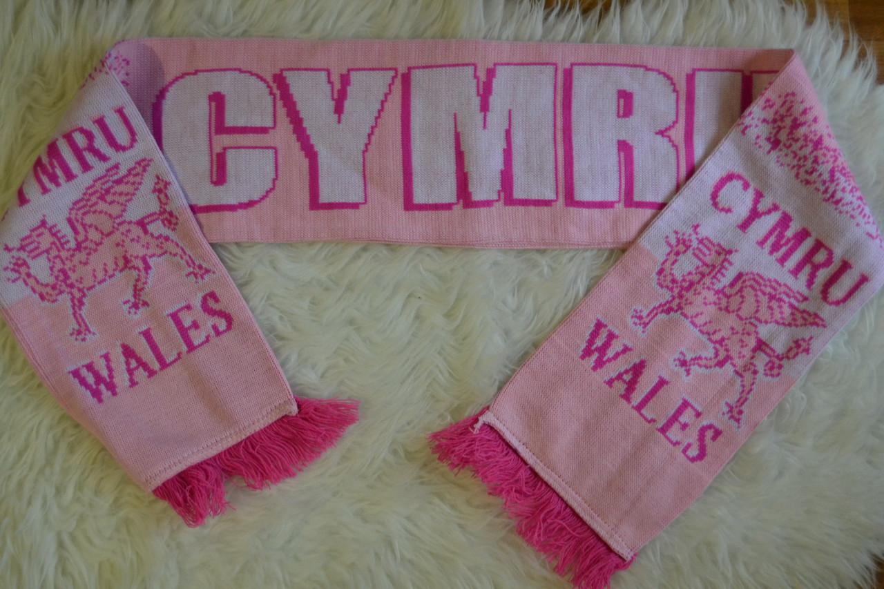 Футбольный шарф Wales Уэльс Cymru
