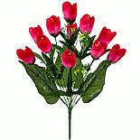 Букет искусственных тюльпанов, 49см (10 шт. в уп), фото 2