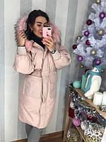 4aa586b7b9f Женское пуховое пальто с капюшоном в расцветках.