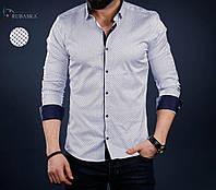 92e82f40c38 Стильная мужская рубашка с длинным рукавом-трансформером