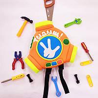 Рюкзак-помогатор детский Фиксики с Вашей надписью