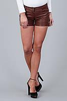 Женские  шорты c искусственной кожи Tom Tailor W31