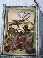 Подарочный набор (1) в деревянном ящике, фото 1