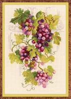 Набор для вышивки крестом Риолис 1455 Виноградная лоза