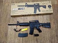 Детский автомат M16 на аккумуляторе, стреляет очередью, качественный пластик, игрушечное оружие