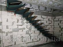 Консольная лестница в коттедж, фото 2