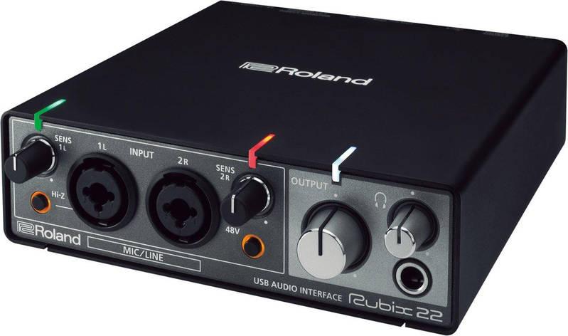 Аудіоінтерфейс Roland Rubix22, фото 2