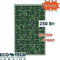 Солнечная панель BISOL Spectrum Marble Green 250 Wp поликристалл, цвет Зеленый Мрамор, фото 1