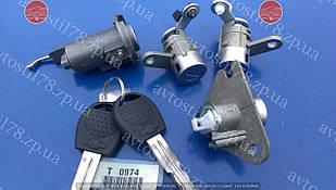 Комплект личинок замков в сборе Авео T200-Т255 хэтчбек