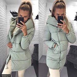 Зимняя модная женская куртка
