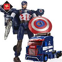 Трансформер Капитан Америка JJ608, фото 1