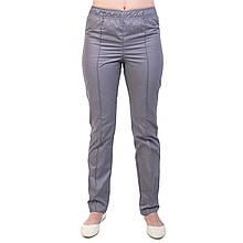 Медицинские женские коттоновые брюки серые
