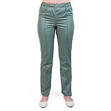Медицинские женские брюки оливковые