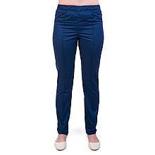 Медицинские женские брюки тёмно-синие