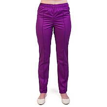 Медицинские женские брюки фиолетовые