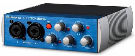Аудіоінтерфейс PreSonus AudioBox USB, фото 2