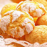 """Печиво """"Crinkle"""" - """"Крінкл"""" - пісочно-цитрусове , фото 1"""