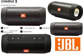 JBL Charge 2+ Plus Bluetooth стерео колонка черная