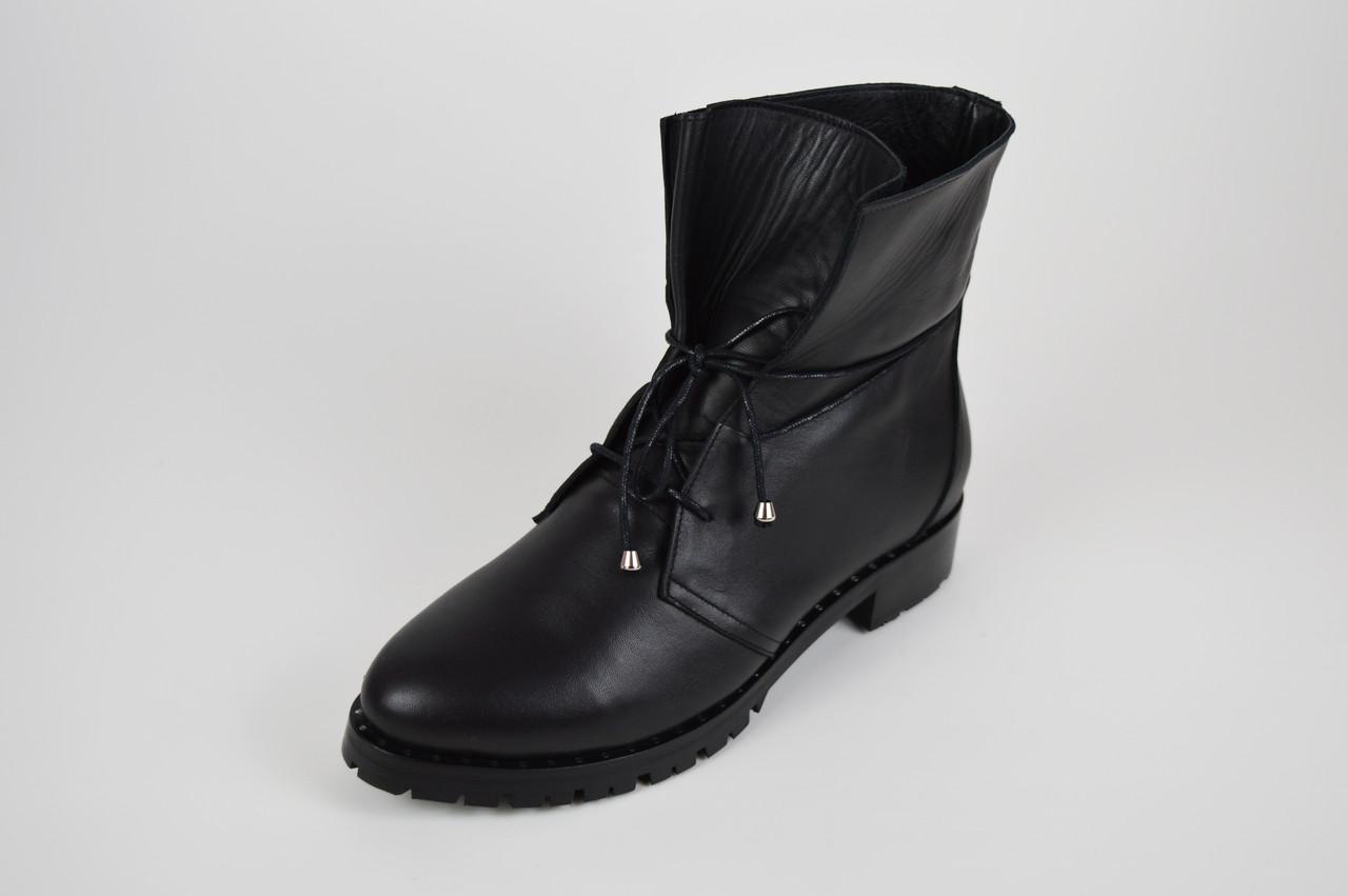 Ботинки кожаные зимние Euromoda 534