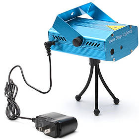 Лазерный проектор Mini Laser Stage Lighting (PG0003)