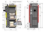 Комбинированные, пиролизные, дровяные, пеллетные, газовые, дизельные (жидкотопливные) котлы Atmos DC15EP(L), фото 3