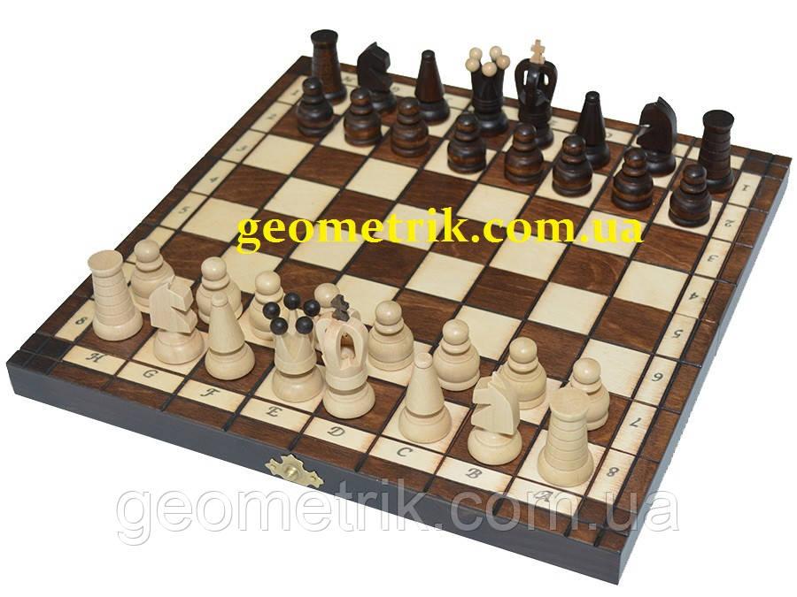 "Шахматы ""Small Kings"", дерево, 31 х 31 см (Польша)"