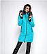Зимняя женская молодежная куртка, цвет бордо. Размеры М,  XXL., фото 2